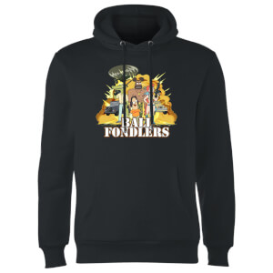 Rick and Morty Ball Fondlers Hoodie - Schwarz