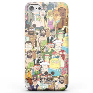 Funda Móvil Rick y Morty Interdimentional TV Characters para iPhone y Android