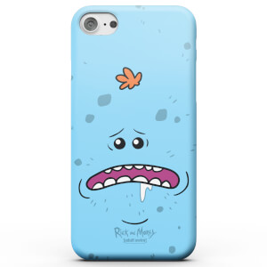 Funda Móvil Rick y Morty Mr Meeseeks para iPhone y Android