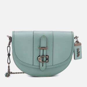Coach 1941 Women's Glovetanned Leather Saddle Bag - Sage