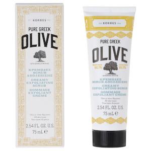 KORRES Natural Pure Greek Olive Creamy Exfoliating Scrub 75ml