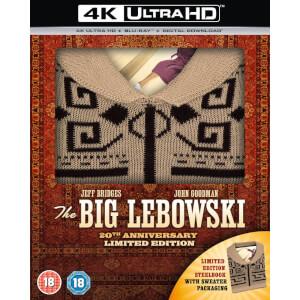 El Gran Lebowski 4K UHD & Blu-ray (con jersey) - Steelbook Exclusivo de Zavvi
