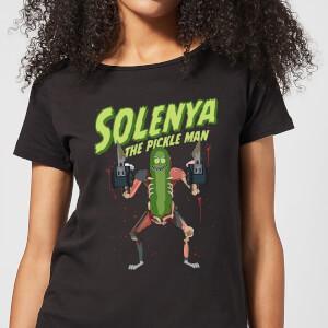T-Shirt Femme Solenya Rick et Morty - Noir