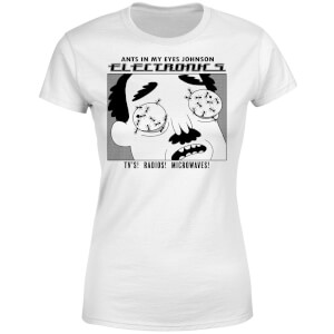 Rick and Morty Ants In My Eyes Women's T-Shirt - White
