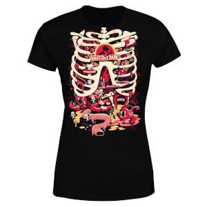 Rick and Morty Anatomy Park Women's T-Shirt - Black