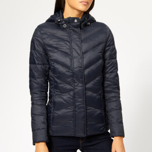 Barbour Women's Seaward Quilted Coat - Navy