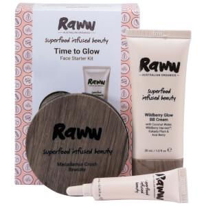 RAWW Time To Glow Starter Kit (Various Shades) (Worth $59.98)