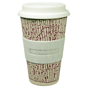 Zuperzozial Cruising Bamboo/Corn Travel Mug - DNA Purple