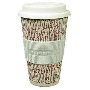 Zuperzozial Cruising Bamboo/Corn Travel Mug - DNA Purple