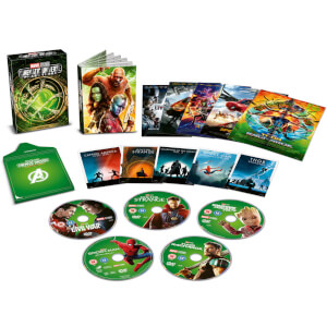 Coffret Collector Marvel Studios - Phase 3 Part 1