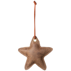 Broste Copenhagen Fade Christmas Ornament - Brown - Star