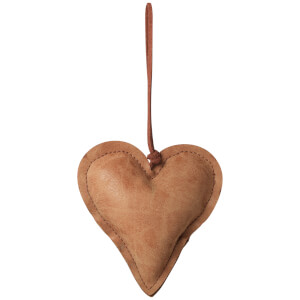 Broste Copenhagen Fade Christmas Ornament - Beige - Heart