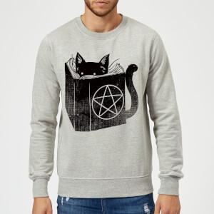 Tobias Fonseca Satanicat Sweatshirt - Grey