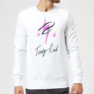 Rock On Ruby Totally Rad Sweatshirt - White