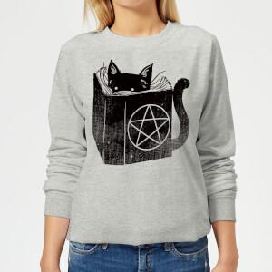 Tobias Fonseca Satanicat Women's Sweatshirt - Grey