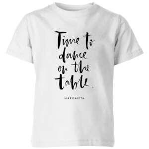 PlanetA444 Time To Dance On The Tables Kids' T-Shirt - White