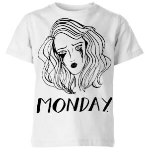 Rock On Ruby Monday. Kids' T-Shirt - White