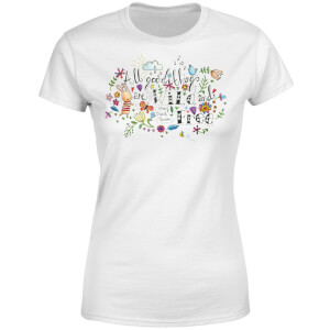 All Good Things Are Wild and Free Women's T-Shirt - White