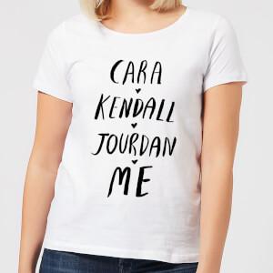 Cara Kendall Jourdan Me Women's T-Shirt - White