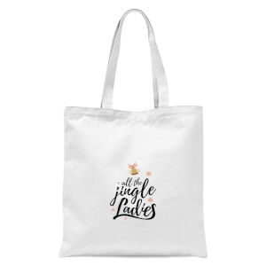 All The Jingle Ladies Tote Bag - White