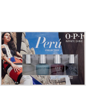 OPI Peru Infinite Shine Mini-Pack Nail Varnish