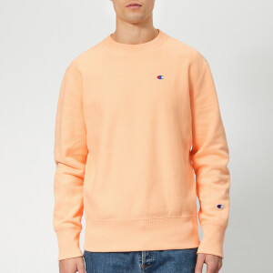 Champion Men's Crew Neck Sweatshirt - Peach