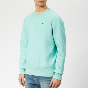 Champion Men's Crew Neck Sweatshirt - Teal