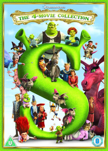 Shrek/ Shrek 2/ Shrek The Third/ Shrek Forever After - 2018 Artwork Refresh