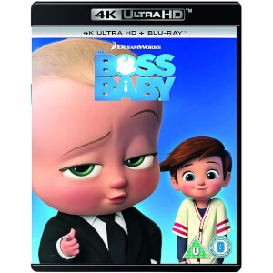 The Boss Baby - 2018 Artwork Refresh - 4K Ultra HD (Includes Blu-Ray)