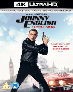 Johnny English Strikes Again - 4K Ultra HD (Includes Digital Copy)