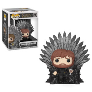 Game of Thrones Tyrion on Iron Throne Pop! Vinyl Deluxe