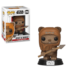 Star Wars Wicket Pop! Vinyl Figur