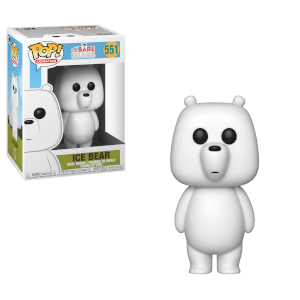 We Bare Bears Ice Bear Pop! Vinyl Figure