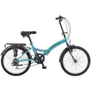 "Viking Metropolis 6sp Folding Bike - Aqua 20"" Wheel"