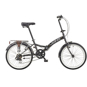 "Viking Metropolis 6sp Folding Bike - Black 20"" Wheel"