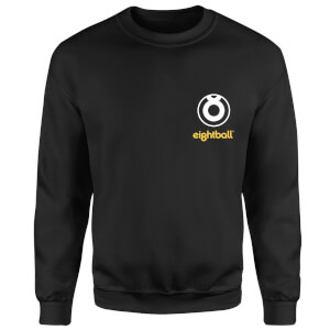 Ei8htball Pocket Logo Sweatshirt - Black