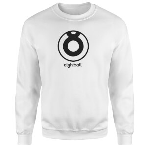 Ei8htball Circle Logo Sweatshirt - White
