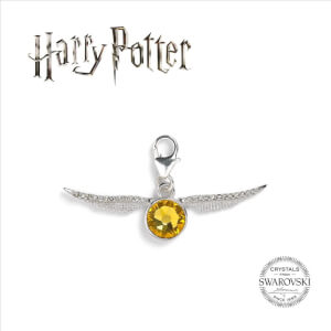 Harry Potter Golden Snitch Clip on Charm