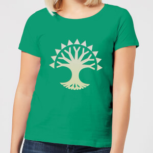 Magic The Gathering Selesnya Symbol Women's T-Shirt - Kelly Green