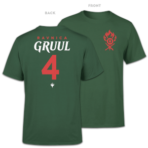 Magic The Gathering Gruul Sports Men's T-Shirt - Forest Green