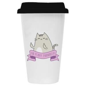 Go Fluff Yourself Ceramic Travel Mug