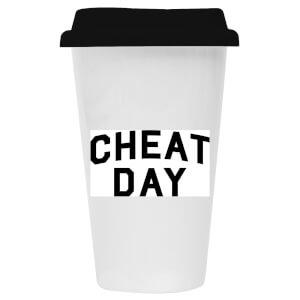 Cheat Day Ceramic Travel Mug