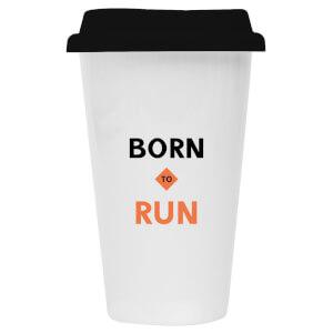 Born To Run Ceramic Travel Mug