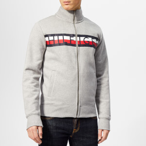 Tommy Hilfiger Men's Tommy Zip Through Sweatshirt - Grey