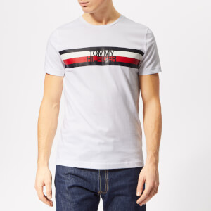 Tommy Hilfiger Men's Tommy Logo T-Shirt - Bright White