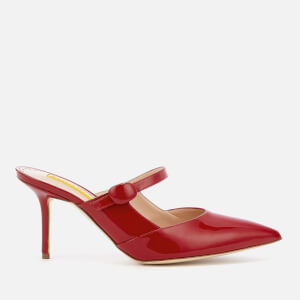 Rupert Sanderson Women's Tosca Patent Leather Heeled Mules - Cerise