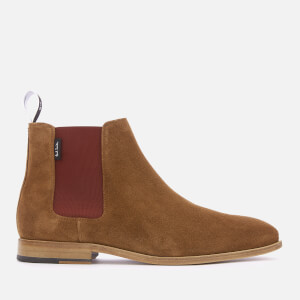 PS by Paul Smith Men's Gerald Suede Chelsea Boots - Tan