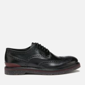 PS Paul Smith Men's Cruz Leather Brogues - Black