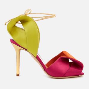 Charlotte Olympia Women's Romy High Sandals - Flam/Neon/Mandarin/Gold