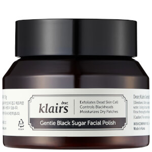 Dear, Klairs Gentle Black Sugar Facial Polish 110g